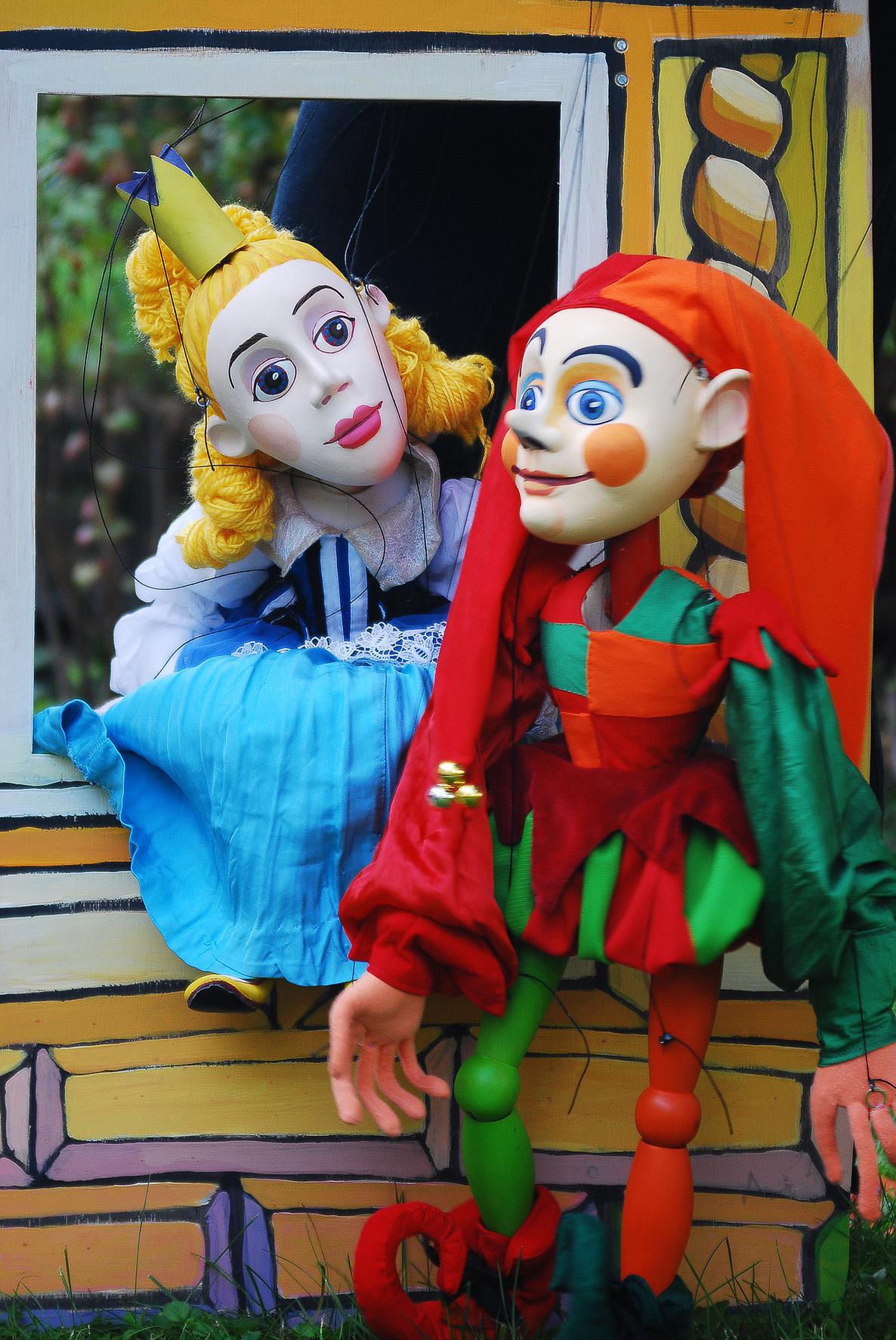 Kašpárek a princezna 1